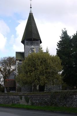 Worth Church - History - The Bell tower